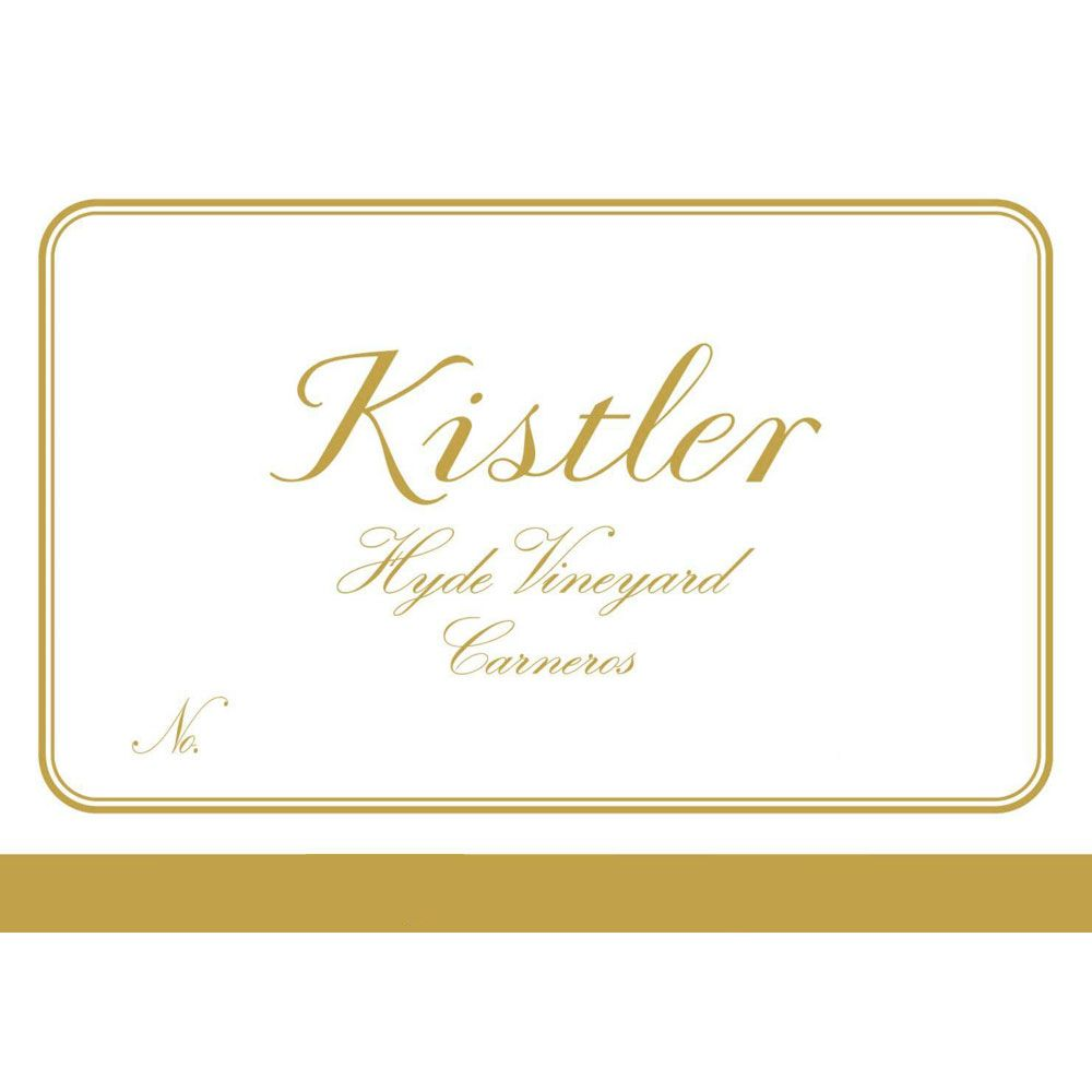 Kistler Vineyards Hyde Vineyard Chardonnay 2005 Front Label