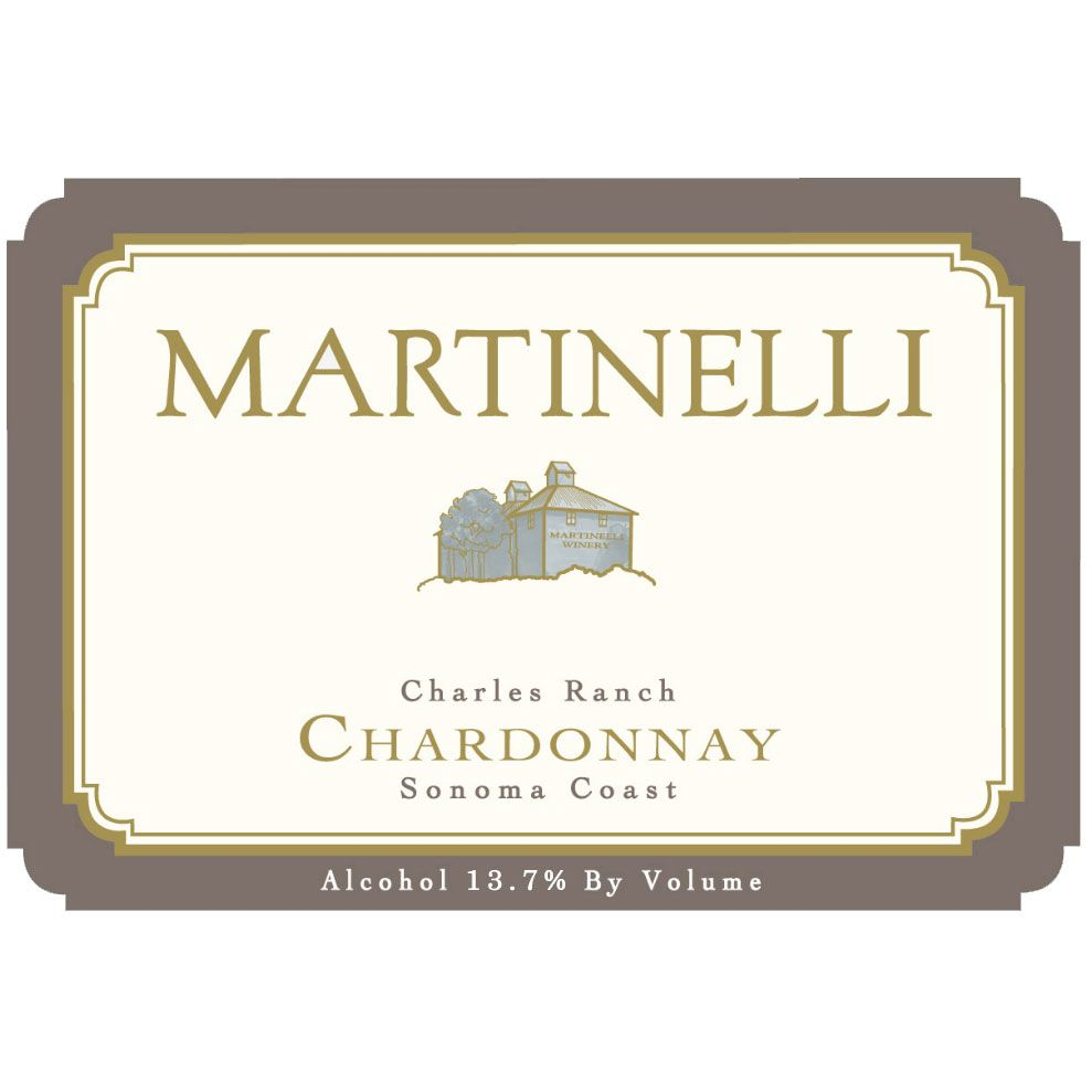 Martinelli Charles Ranch Chardonnay 2005 Front Label