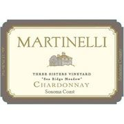 Martinelli Three Sisters Vineyard-Sea Ridge Meadow 2005 Front Label