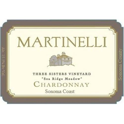 Martinelli Three Sisters Vineyard-Sea Ridge Meadow 2007 Front Label