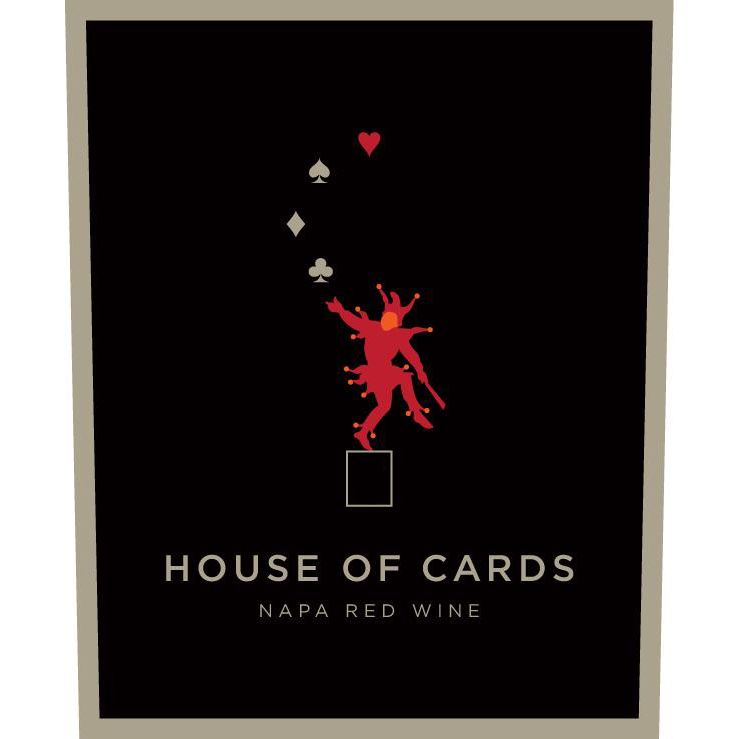 House of Cards Red Blend 2016 Front Label