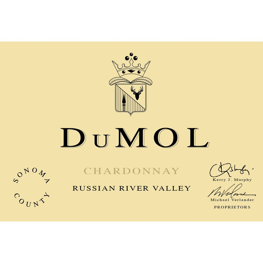 DuMOL Russian River Valley Chardonnay 2007 Front Label