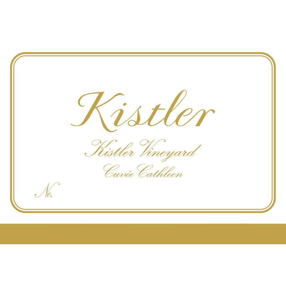 Kistler Vineyards Cuvee Cathleen Chardonnay 2008 Front Label