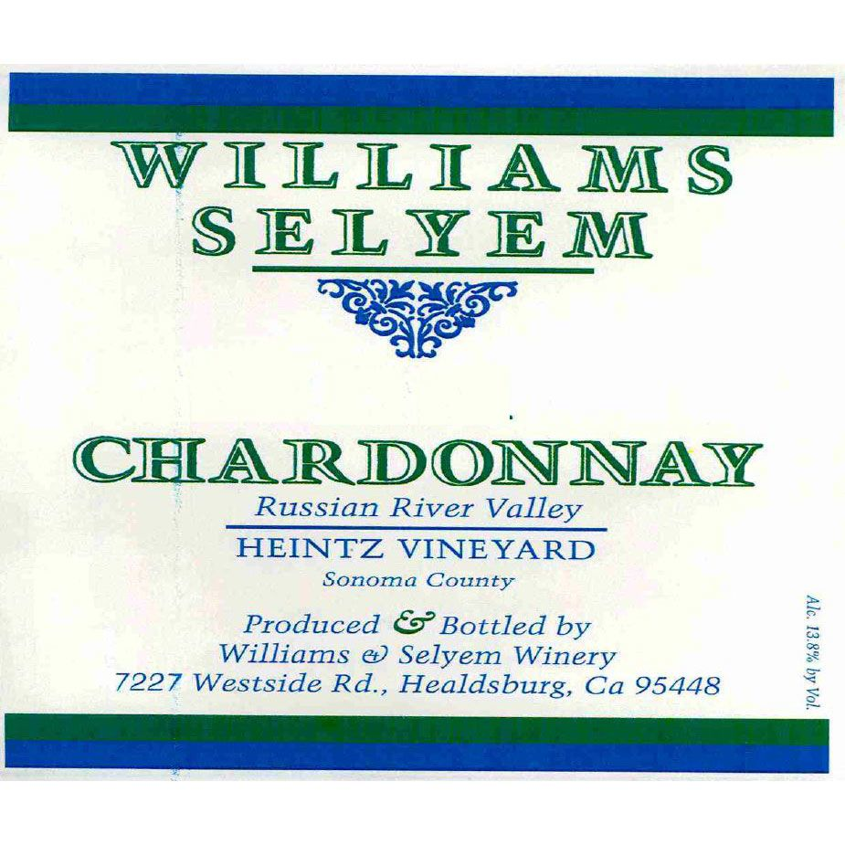 Williams Selyem Heintz Chardonnay 2007 Front Label