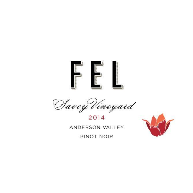 FEL Savoy Vineyard Pinot Noir 2014 Front Label