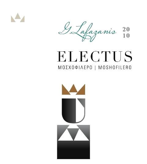 G. Lafazanis Winery Electus Moschofilero 2010 Front Label