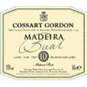 Cossart Gordon Bual 1958 Front Label
