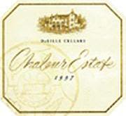 DeLille Chaleur Estate Red 1997 Front Label