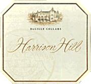 DeLille Harrison Hill Red 1997 Front Label
