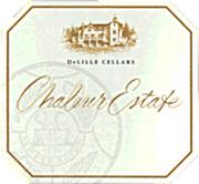 DeLille Chaleur Estate Blanc 1998 Front Label