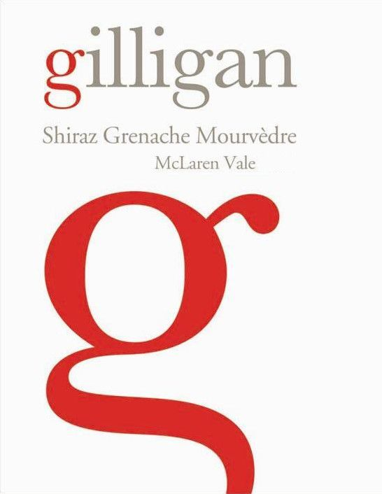 Giligan Wines Shiraz Grenache Mourvedre 2009 Front Label