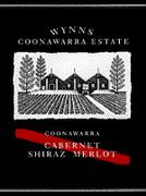 Wynns Coonawarra Estate Cabernet Shiraz Merlot 1998 Front Label