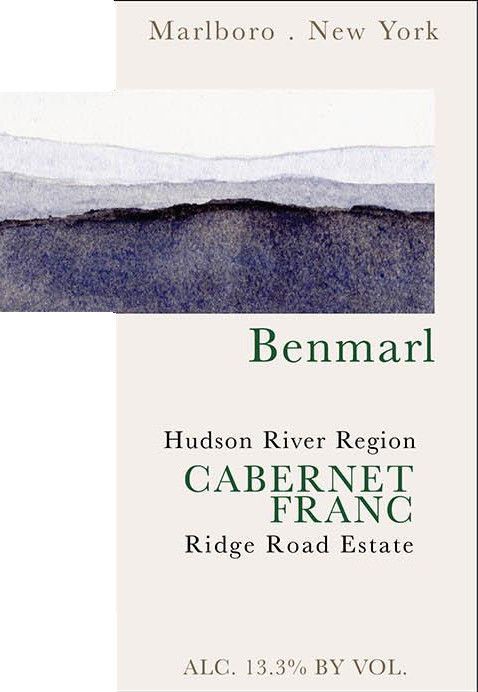 Benmarl Vineyards & Winery Hudson River Region Cabernet Franc 2014 Front Label