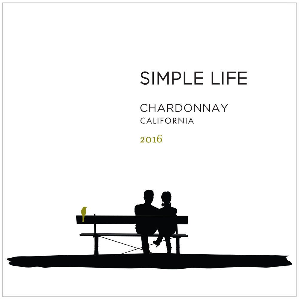 Simple Life Chardonnay 2016 Front Label