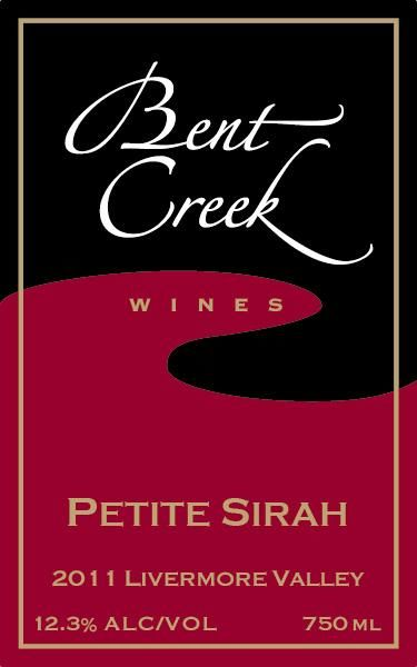 Bent Creek Winery Petite Sirah 2011 Front Label
