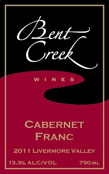 Bent Creek Winery Cabernet Franc 2011 Front Label