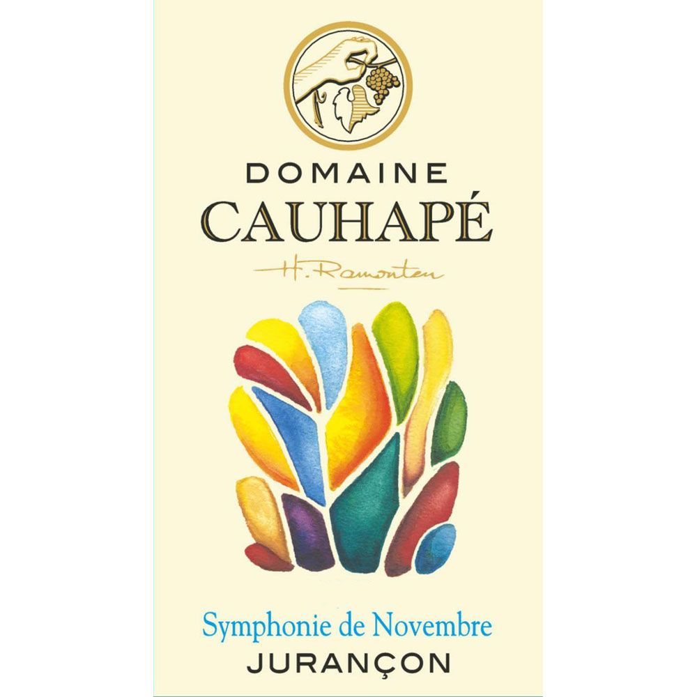 Domaine Cauhape Symphonie de Novembre Jurancon (375ml half-bottle) 2015 Front Label
