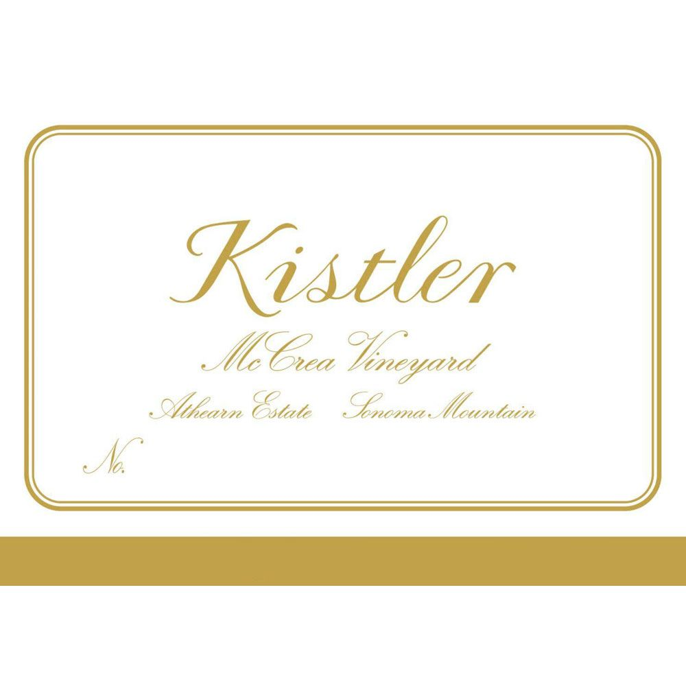 Kistler Vineyards McCrea Chardonnay 2004 Front Label