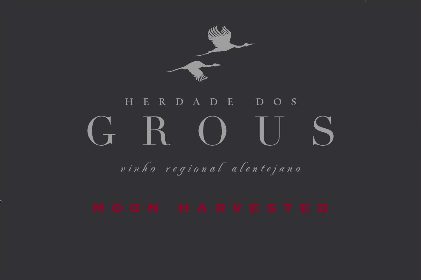 Herdade Dos Grous Moon Harvested 2014 Front Label