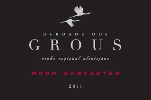 Herdade Dos Grous Moon Harvested 2011 Front Label