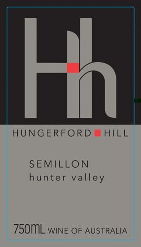 Hungerford Hill Semillon 2016 Front Label