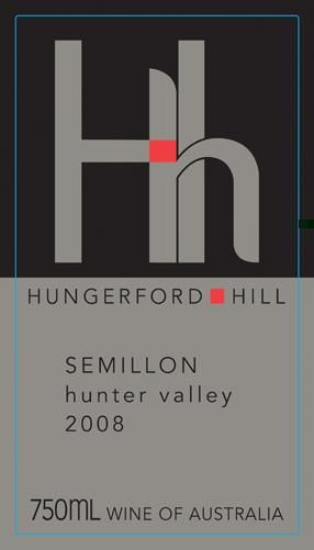 Hungerford Hill Semillon 2008 Front Label