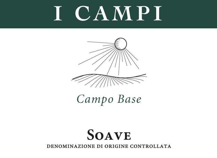 I Campi Soave Campo Base 2009 Front Label