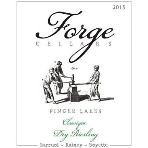 Forge Cellars Classique Riesling 2015 Front Label