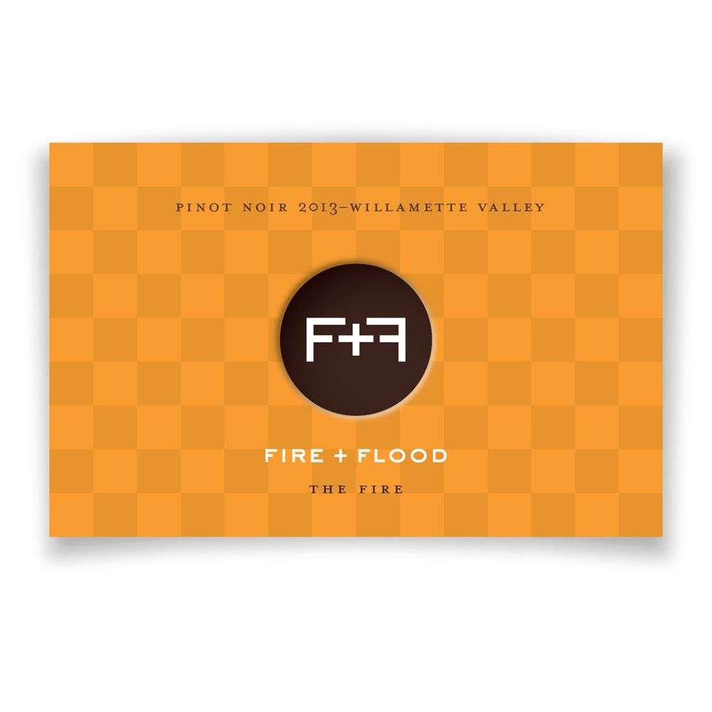 Chapter 24 Fire and Flood The Fire Pinot Noir (375ML half-bottle) 2013 Front Label