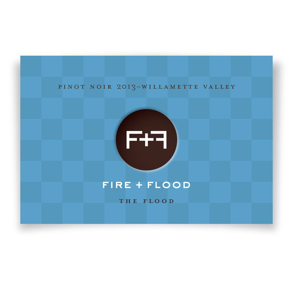 Chapter 24 Fire and Flood The Flood Pinot Noir (375ML half-bottle) 2013 Front Label