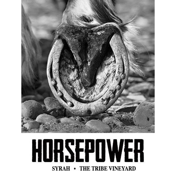Horsepower Vineyards The Tribe Vineyard Syrah 2014 Front Label