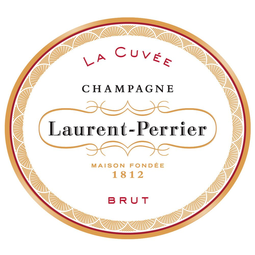 Laurent-Perrier La Cuvee Brut (187ML Split) Front Label