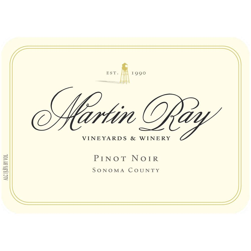 Martin Ray Sonoma County Pinot Noir (375ML half-bottle) 2016 Front Label
