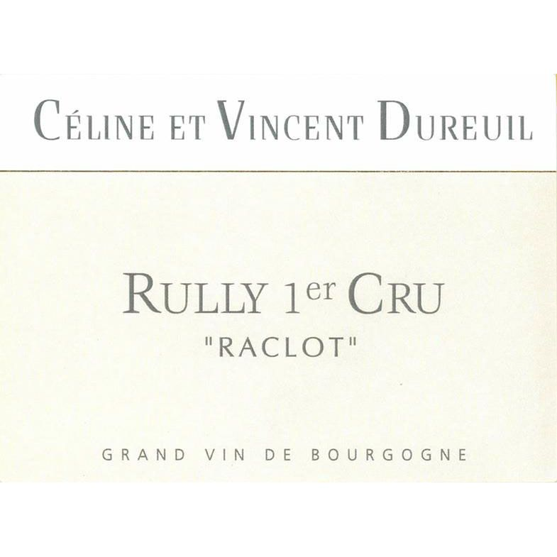 Dureuil-Janthial Rully Premier Cru Raclot Blanc 2014 Front Label