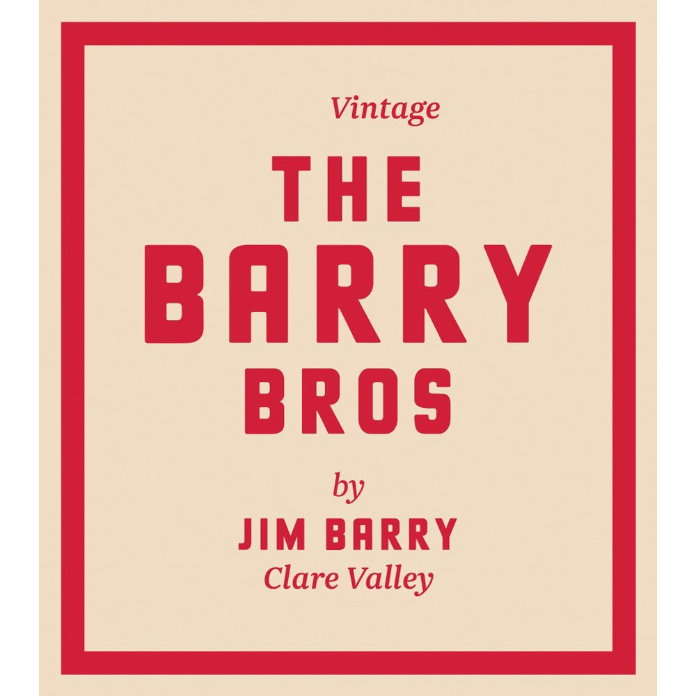 Jim Barry The Barry Bros Red Blend 2015 Front Label