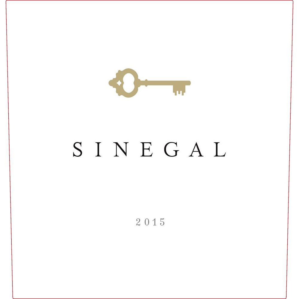 Sinegal Estate Cabernet Sauvignon 2015 Front Label