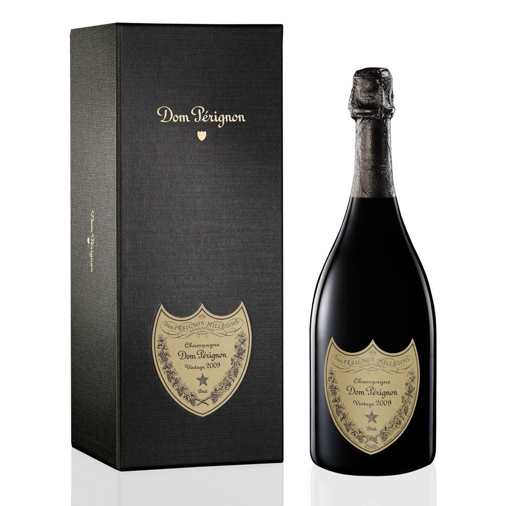 Dom Perignon Vintage with Gift Box 2009 Front Label