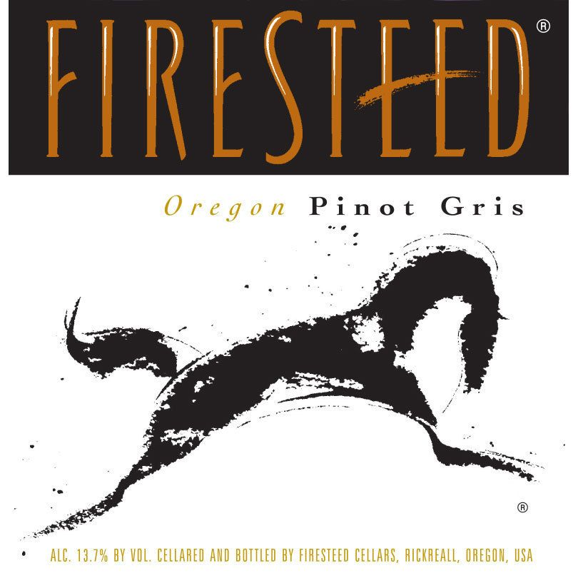 Firesteed Pinot Gris 2014 Front Label
