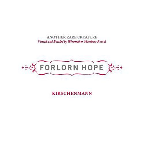 Forlorn Hope Kirschenmann Pinot Gris Ramato 2015 Front Label