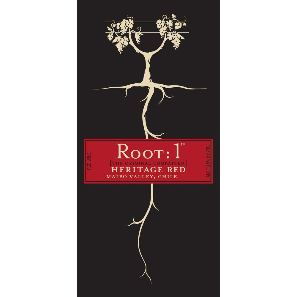 Root 1 Heritage Red Blend 2015 Front Label