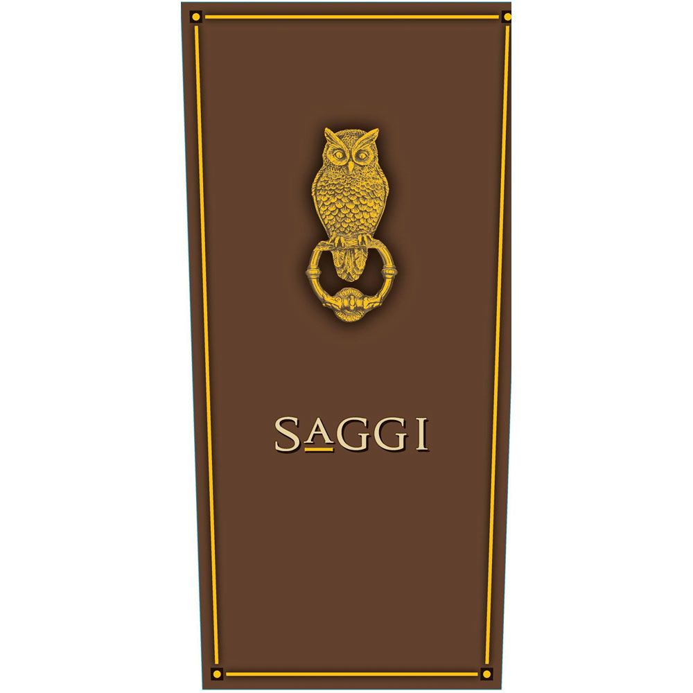 Saggi  2015 Front Label