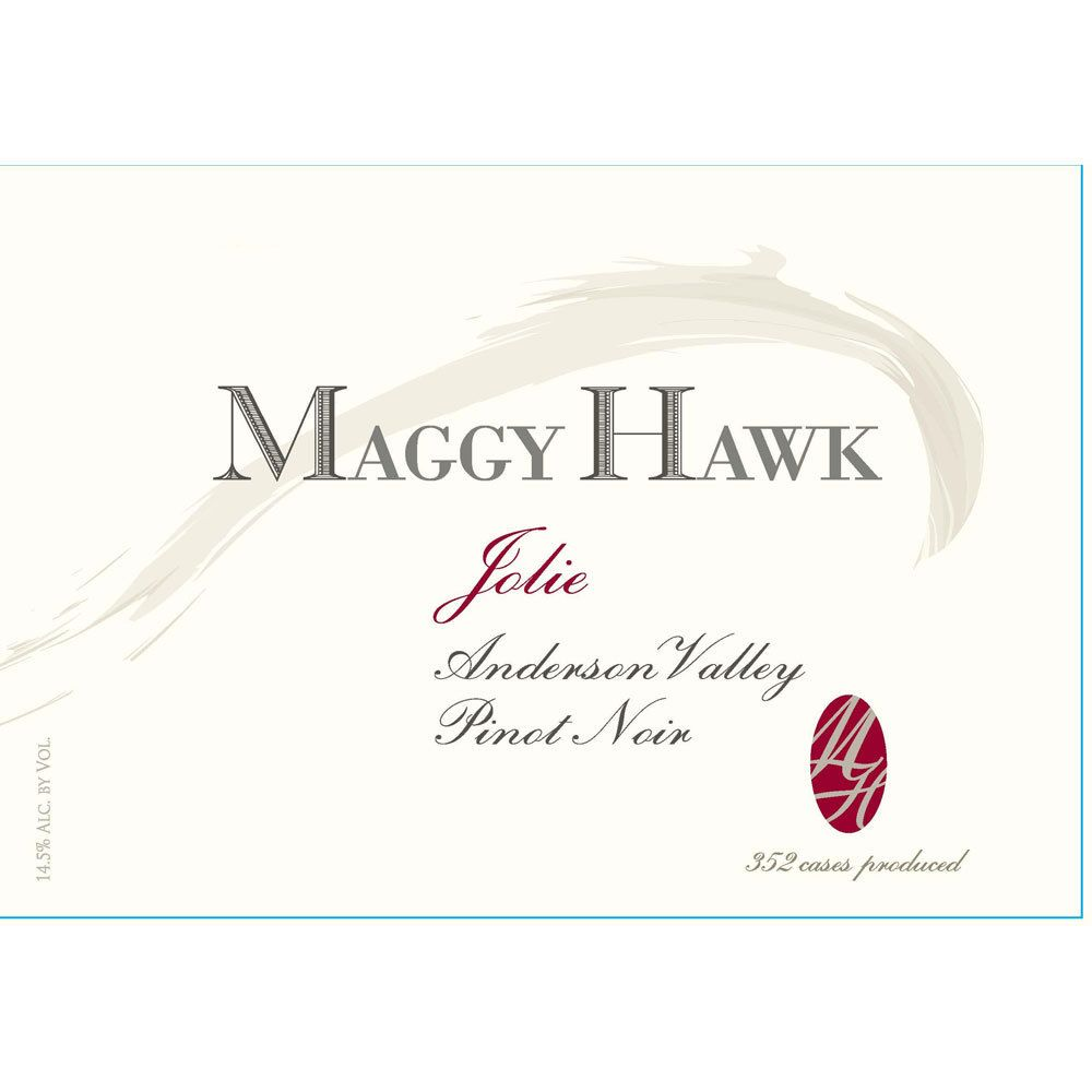 Maggy Hawk Jolie Anderson Valley Pinot Noir 2014 Front Label