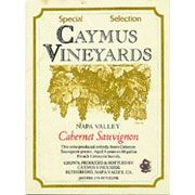 Caymus Special Selection Cabernet Sauvignon 1983 Front Label