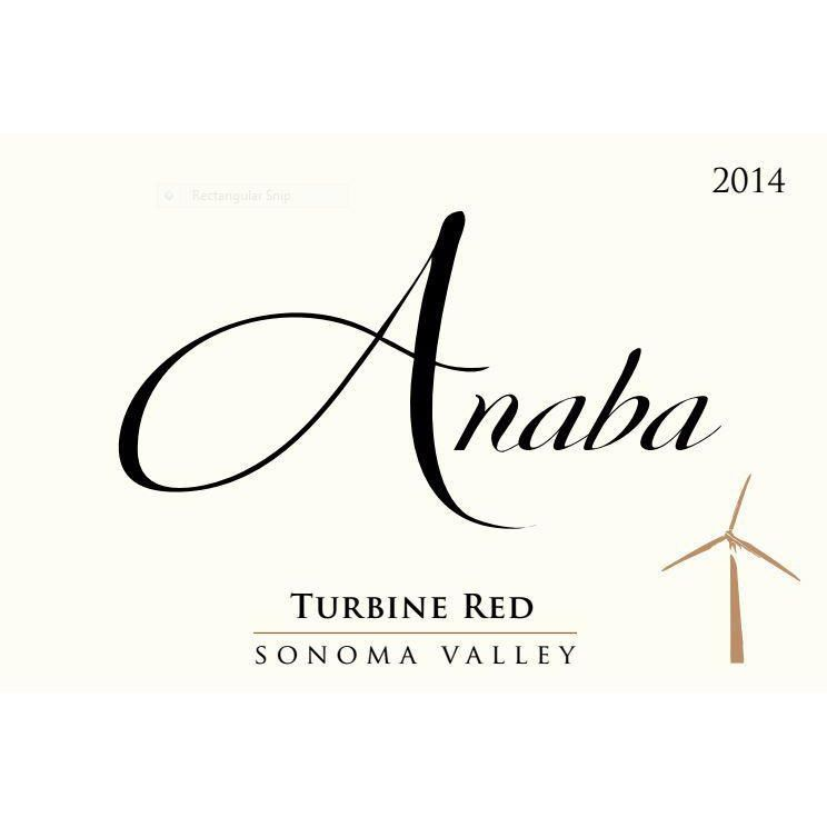 Anaba Turbine Red 2014 Front Label