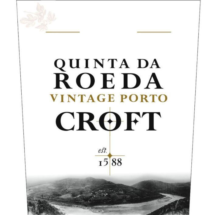 Croft Quinta Da Roeda 2015 Front Label
