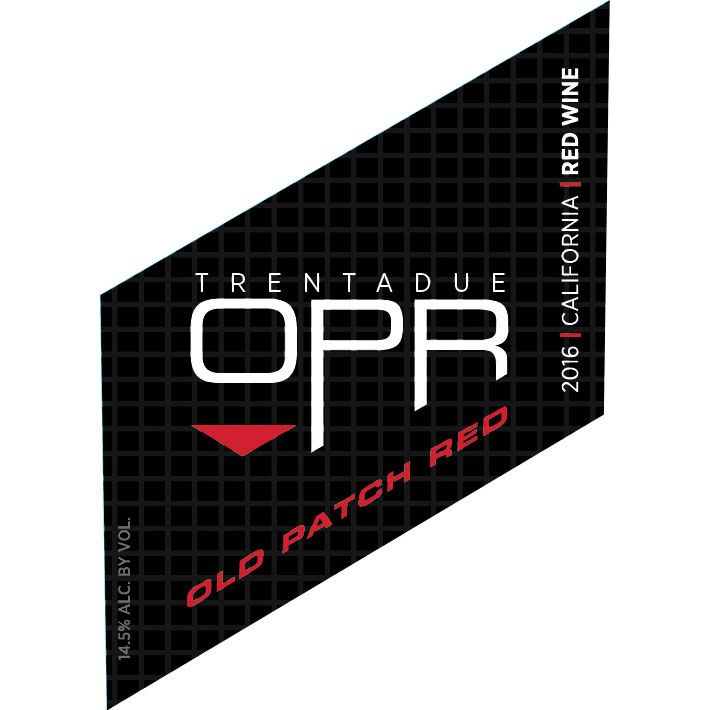 Trentadue Old Patch Red 2016 Front Label