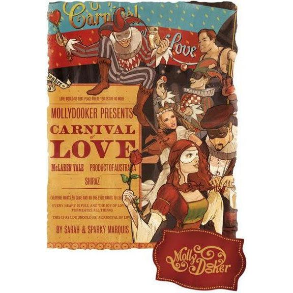 Mollydooker Carnival of Love 2016 Front Label