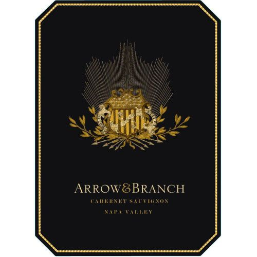 Arrow & Branch Cabernet Sauvignon 2013 Front Label