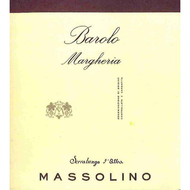 Massolino Vigna Margheria Barolo 2013 Front Label