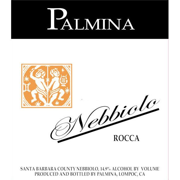Palmina Rocca Vineyard Nebbiolo 2010 Front Label